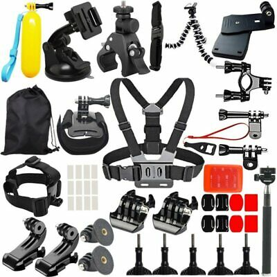High quality 45 In 1 for GoPro Accessories Hero 5 4 3 2 1 Bundle Camera Outdoor