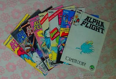 Comic Alpha Flight: Lote de 21 numeros - Comics Forum
