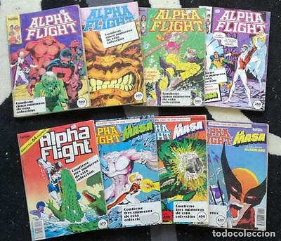 Comic Alpha Flight: Lote de 8 retapados, 40 numeros - Comics Forum,