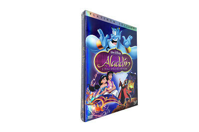 Aladdin (DVD, 2004, 2-Disc Set, Special Edition) Brand New & Free shipping