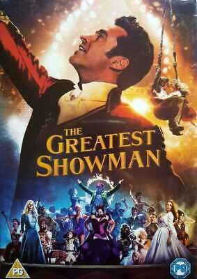 The Greatest Showman DVD New & Sealed Fast & Free Shipping Region 2 UK
