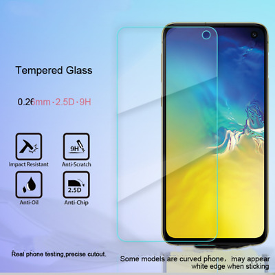 For Samsung Galaxy S10e Ultra-thin Hardness Tempered Glass Screen Protector Lot