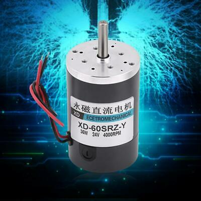 36W Permanent Magnet High Speed Large Torque Adjust Speed  CW/CCW DC Motor SY