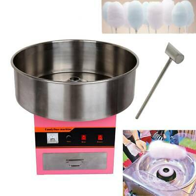 1300W, Ø52cm Commercial Candy Floss Making Machine Cotton Candy Maker Party Home