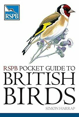 (Good)-RSPB Pocket Guide to British Birds (Paperback)-Simon Harrap-071368707X