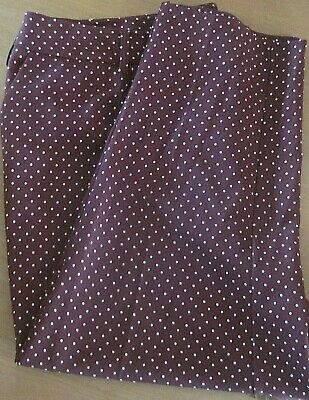 Smart Dorothy Perkins Polka Dot Ankle Grazer Trousers. Office. Size 24