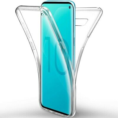 for Samsung S8 S9 S10+ S10e 360°Shockproof Full Soft Clear Silicone Case Cover