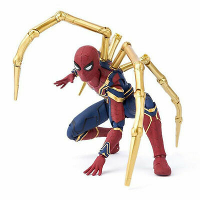 16CM Avengers 3 Infinity War Iron Spiderman Spider-Man Action Figure Toys Gifts