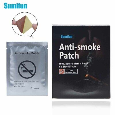 NEW 35 Patches Sumifun Quit Smoking Anti Smoke Patch For Smoking Cessation Patch