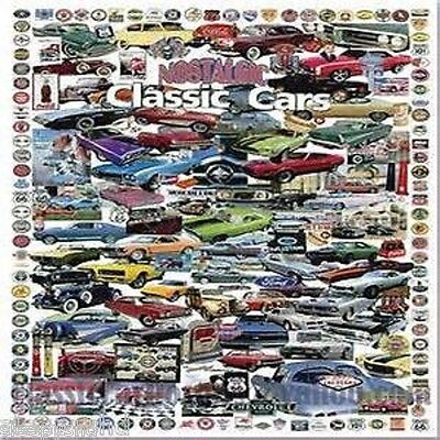 Classic Car Embroidery Machine Pattern Designs Brother Baby Lock PES ON SALE