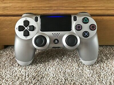 Official Sony PS4 PlayStation 4 DualShock V2 Controller - Silver (B)