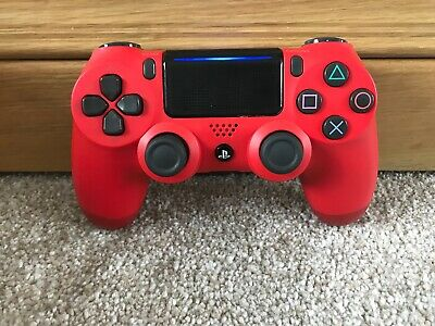 Official Sony PS4 PlayStation 4 DualShock V2 Controller - Red (F)