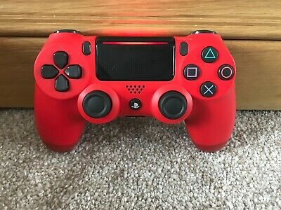 Official Sony PS4 PlayStation 4 DualShock V2 Controller - Red (G)