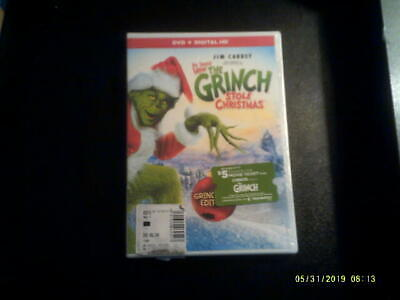 How The Grinch Stole Christmas By Dr. Seuss ( DVD + Digital HD )