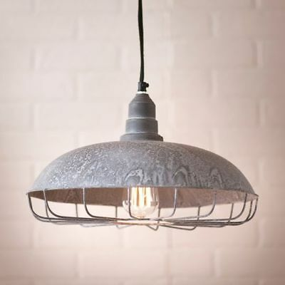 SUPPLY STORE new Hanging Light in Weathered Zinc