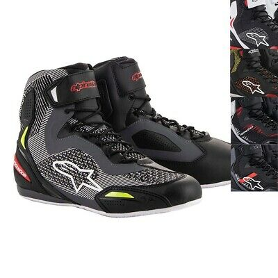 NEW Alpinestars Faster 3 Rideknit Motorcycle Sports Pit Lace Shoes/Boots