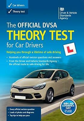 (Good)-The official DVSA theory test for car drivers (Paperback)-Driver and Vehi