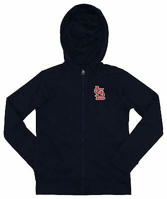 Outerstuff MLB Youth/Kids St. Louis Cardinals Performance Full Zip Hoodie