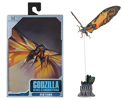 """Godzilla King of the Monsters Mothra 2019 7"""" Scale Action Figure NECA IN STOCK"""
