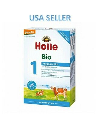 Holle Stage 1 Organic Baby Formula PACK OF 6 ***FREE SHIPPING***