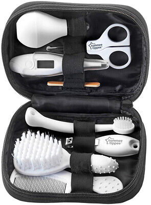 TOMMEE TIPPEE Baby Care Grooming Kit - Black - Brand New - Free Postage in Aus