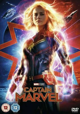 Captain Marvel Dvd Free Shipping Factory Sealed Brand New Pre Sale 6/11