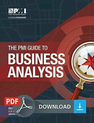 The PMI Guide to BUSINESS ANALYSIS PMBOK 🌟Original PDF🌟 2017