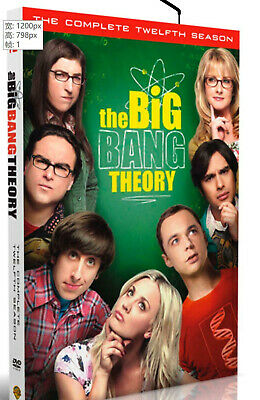 The Big Bang Theory Season 12 dvd new