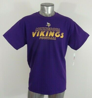 8f89dbe1 VINTAGE MINNESOTA VIKINGS Mens XL Purple SS T Shirt NFL Pro Player ...