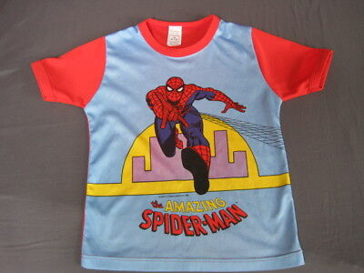 Boy's MARVEL SPIDERMAN Vintage 1980 collector t-shirt 5/6 (9/10 but very small).