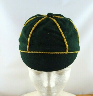 Vintage Boy Scout Green Pure Wool Hat Cap Made Expressly for the Scout Shop