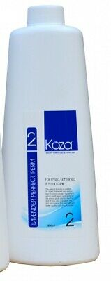 Koza Lavender Perfect Perm Number 2 800ml for Tinted, Lightened and Porous Hair