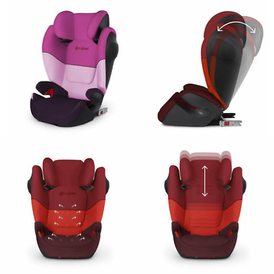 CYBEX Silver Solution M-Fix SL Child's Car Seat, for Cars with and Without ISOFI