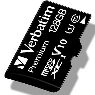 Verbatim Premium 128 Gb Micro Sd Sdxc Memory Card Adapter