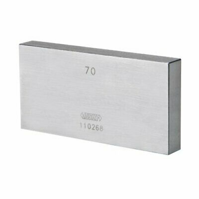 INSIZE 4101-C175 Individual Steel Gage Block, grade 2 with inspection certificat