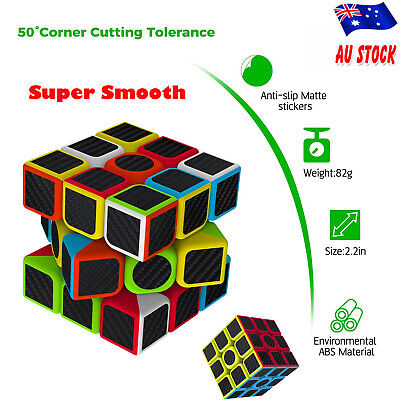 3X3 Smooth Speed Magic Rubiks Cube Puzzle Easy Twist Kids Toys Educational Gifts