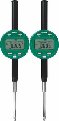 "INSIZE 2103-50F Digital Indicator, 50.8 mm/2"", Resolution 0.001 mm/0.00005"", Fla"