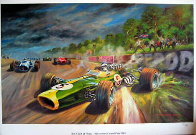 Lotus 33 Climax #5/Jim Clark - Winner Silverstone Grand Prix - 1965