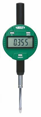INSIZE 2116-251F Metric Digital Indicator, Flat Back, 25.4 mm, Resolution 0.001