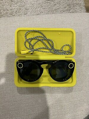 *NEW* Snapchat Spectacles 2.0 ONYX Camera/Glasses SnapChat. USED ONCE.