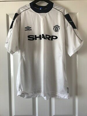 Rare Manchester United  Football Shirt (Man Utd) Large 1999 - 2000