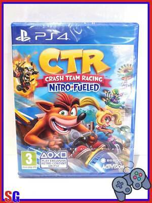 Ctr Crash Team Racing Nitro Fueled Playstation 4 Ps4 Prodotto Pal Nuovo!