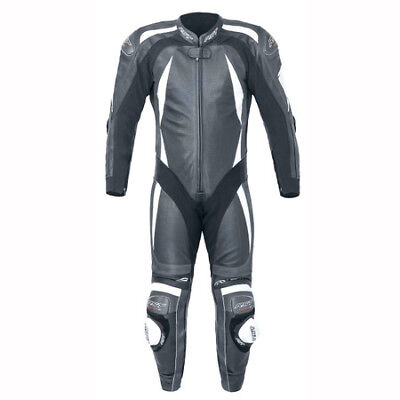 Rst Pro Series Cpx-C Ii 1840 Leather Suit Knee/Elbow Sliders New 42 Black White