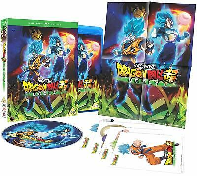 DRAGON BALL SUPER: BROLY Collector's Edition DVD in Inglese NEW .cp