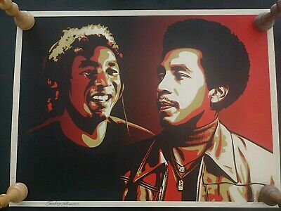 Shepard Fairey (Obey) Smokey Robinson Red