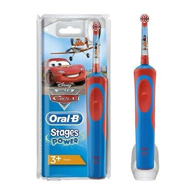 Oral-B Power Handle Vitalidad Niños Disney Cars Cepillo de Dientes Recargable