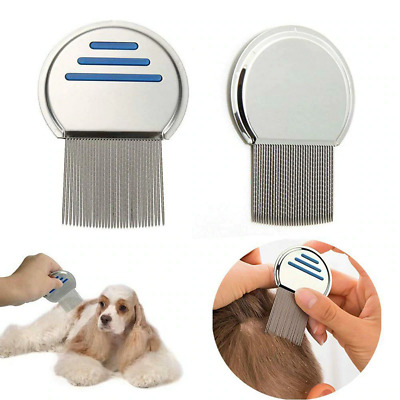 Pet Supplies Terminator Lice Comb Nit Free Kids Hair Rid Headlice Stainless New