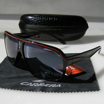 Men Womens Retro Unisex Sunglasses Aviator Matte Black Carrera Glasses JX89