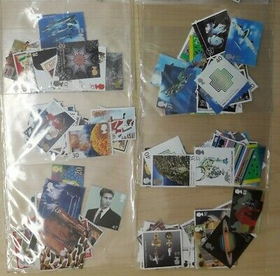 £60 mint Great Britain stamps for postage (13p - £1.28) full gum @75% face value