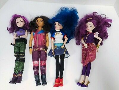 LOT 4 DISNEY Descendants Dolls Evie Mal Jay And Mal Free Shipping